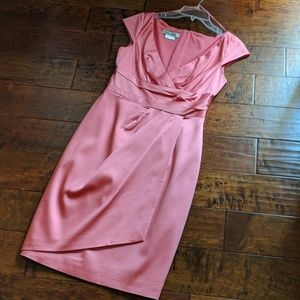 Coral Pink Dress - Size 4
